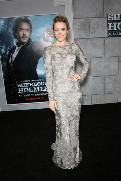 Rachel McAdams Pictures: Sherlock Holmes: A Game of Shadows Premiere Photos, Pics