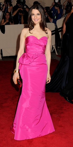 Rachel Weisz Style Pictures: Met Costume Institute Gala Benefit 2010 Red Carpet Photos and Pics
