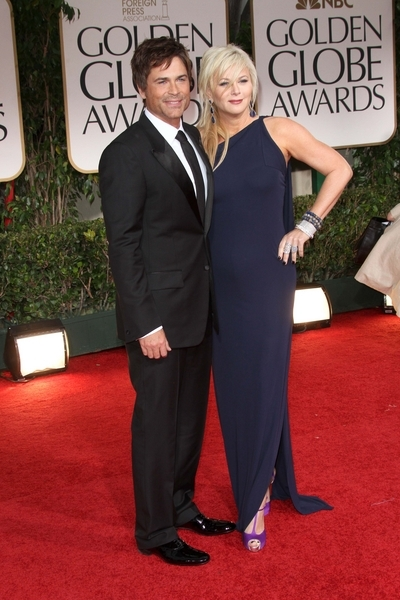 Rob Lowe Pictures: Golden Globes 2012 Awards Red Carpet Photos, Pics