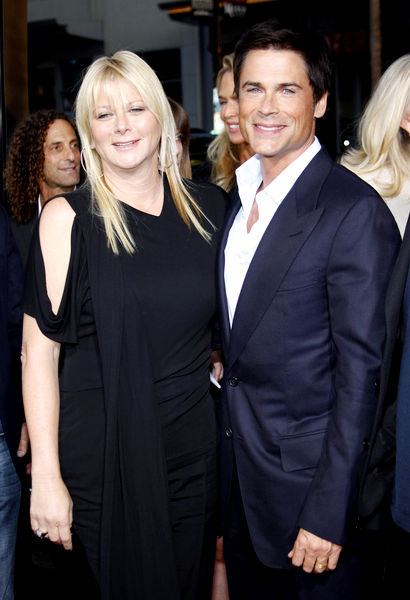 Rob Lowe with beautiful, endearing, friendly, Wife Sheryl Berkoff