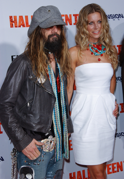 Pictures Rob Zombie His Wife Director Rob Zombie And His