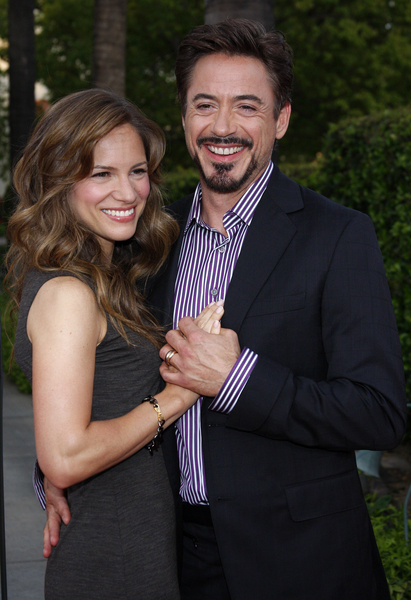 Robert Downey Jr. and Wife Susan Levin Downey Pictures - The Soloist Movie Premiere Red Carpet