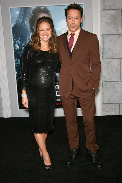 Robert Downey Jr. and Susan Downey Pictures: Sherlock Holmes: A Game of Shadows Premiere Photos, Pics