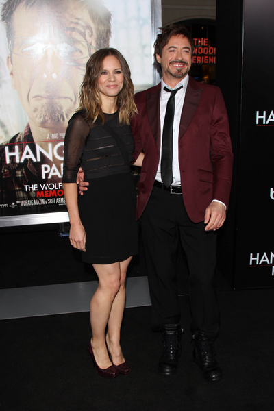 Robert Downey Jr. and Susan Levin Pictures: The Hangover Part II Movie Premiere Red Carpet Photos, Pics