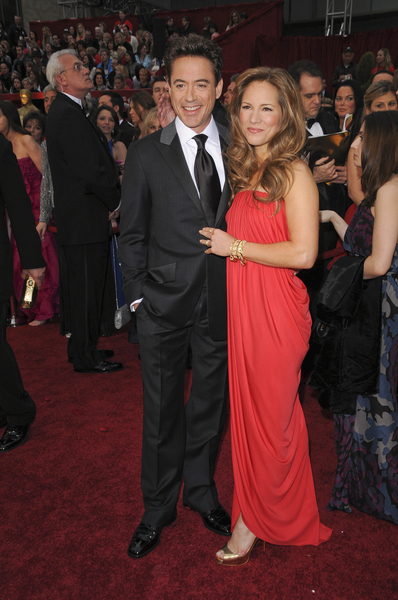 Robert Downey Jr. and wife Susan 81st Academy Awards-Oscars Red Carpet Pictures, Photos &amp; Pics