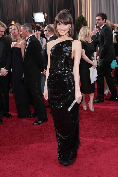 Rose Byrne Pictures: Academy Awards (Oscars) 2012 Red Carpet Photos, Pics