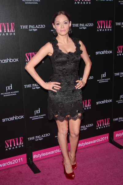 Rose McGowan Pictures: Hollywood Style Awards 2011 Photos, Pics