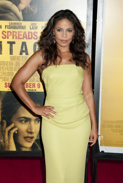Sanaa Lathan Hot Style Pictures: Contagion Movie Premiere Photos, Pics