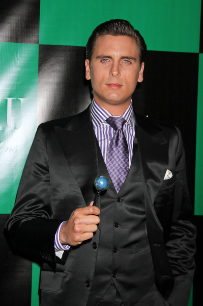 scott disick cane. Scott disick with a blue
