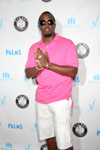 Sean 'Diddy' Combs Pictures: Palms Pool and Bungalows Las Vegas Photos, Pics