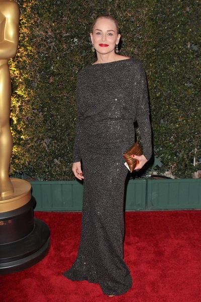 Sharon Stone Pictures: Governors Award Dinner 2011 Photos, Pics
