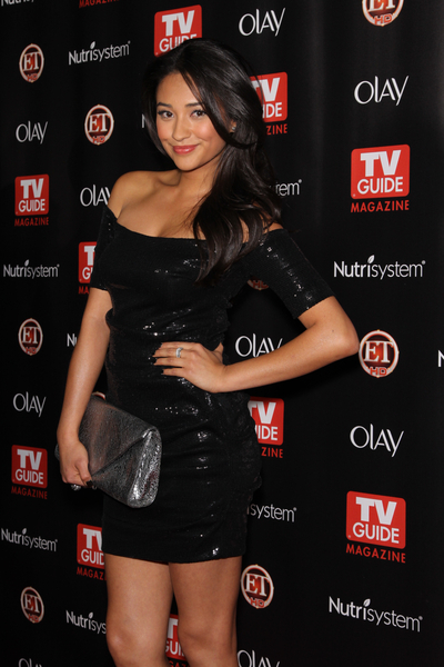 Shay Mitchell Hot Style Pictures: TV Guide Magazine Hot List Party 2010 Photos and Pics