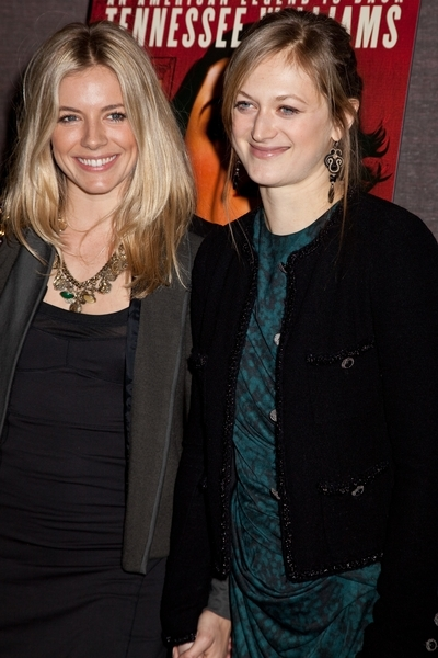 Sienna Miller and Marin Ireland Pictures: The Loss of a Teardrop Diamond New York Premiere Red Carpet Photos