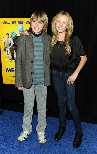 Spencer List and Peyton List Pictures: Megamind Movie Premiere Photos and Pics