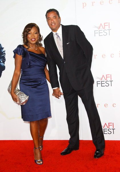 Star Jones and Boyfriend Herb Wilson Pictures: Precious AFI Fest 2009 Screening Red Carpet Photos