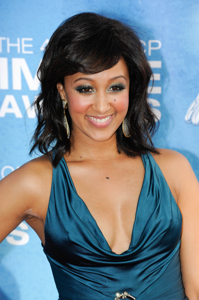 Tamera Mowry Hot Style Pictures Naacp Image Awards 2011