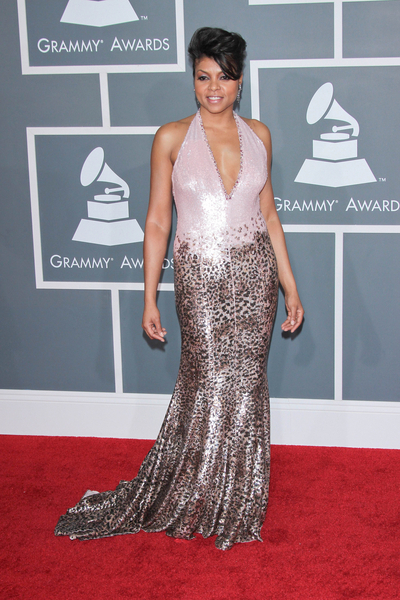 Taraji P. Henson Pictures: Grammy Awards (Grammys) 2012 Red Carpet Photos, Pics