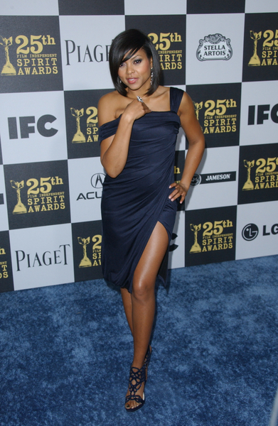 Taraji P. Henson Hot Style Pictures: Film Independent Spirit Awards 2010 Red Carpet Photos