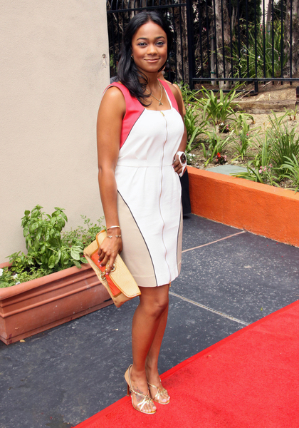 Tatyana Ali Pictures: Millennium Momentum Foundation Initiative Launch ...