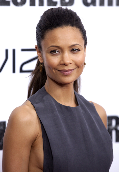 Thandie Newton Pictures: For Colored Girls New York Movie Premiere Photos and Pics