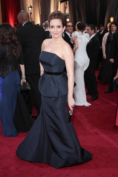 Tina Fey Pictures: Academy Awards (Oscars) 2012 Red Carpet Photos, Pics