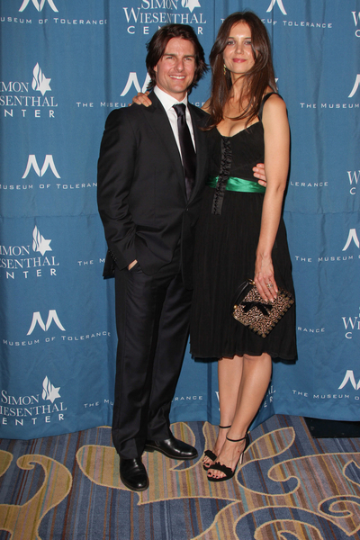 Tom Cruise and Katie Holmes Pictures: Simon Wiesenthal Center National Tribute Dinner 2011 Photos, Pics