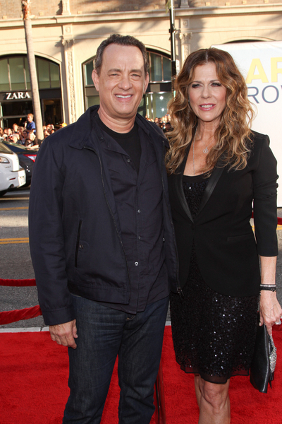 Tom Hanks and Rita Wilson Pictures: Larry Crowne Movie Premiere Photos, Pics