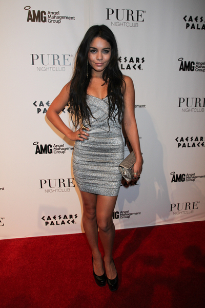 Vanessa Hudgens Hot Style Pictures: 22nd Birthday Party PURE Las Vegas Photos and Pics
