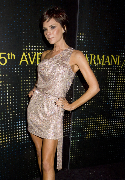 Victoria Beckham Hot Red Carpet Pictures, Photos & Pics - Armani-5th Avenue Store Opening