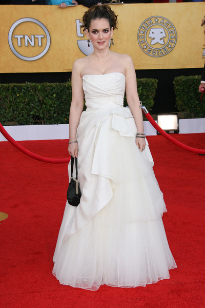 Winona Ryder SAG Awards 2011 Red Carpet Pictures: 17th Screen Actors Guild Awards Photos and Pics