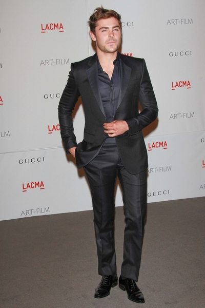 Zac Efron Pictures: LACMA Art and Film Gala Photos, Pics