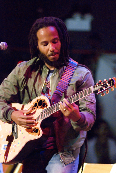 Ziggy Marley performs during his  Family Time  concert tour at the    Ziggy Marley Family Time
